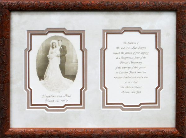 Wedding Invite with Photo Sample